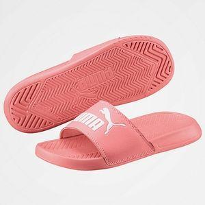 "Puma Women's ""POPCAT"" Slide Sandals"
